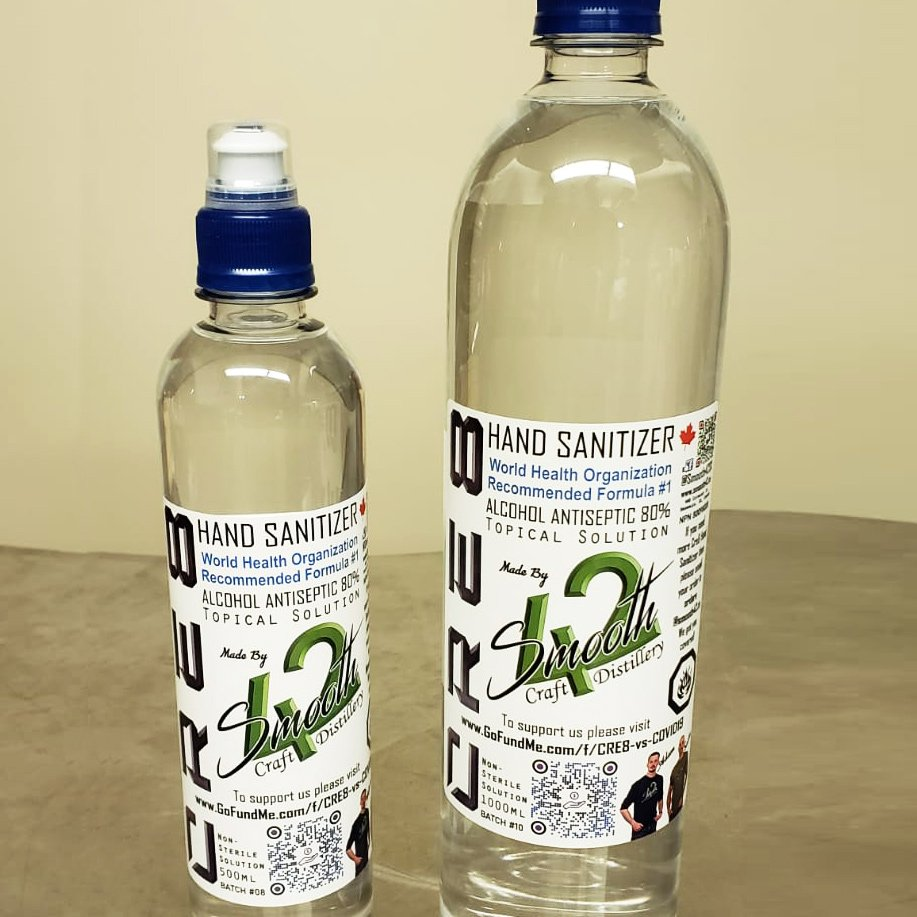 500ml & 1000ml Cre8 Hand Sanitizer