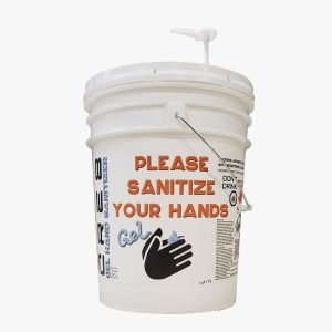 20L Pails of Gel Hand Sanitizer